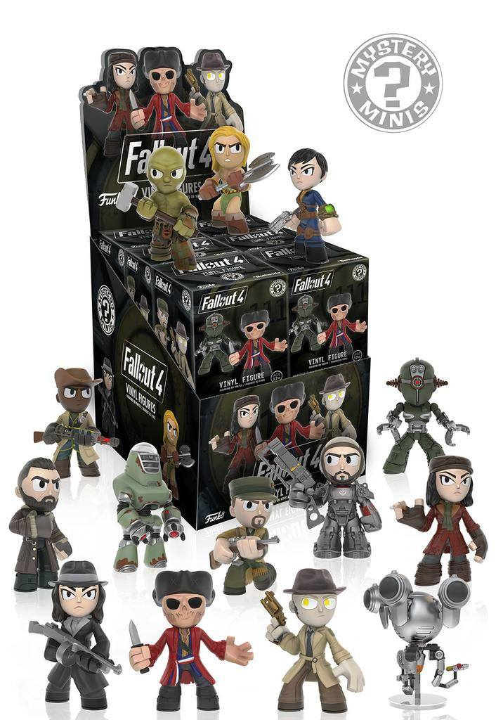 Fallout 4 Mystery Mini Figures 6 cm Display (12)