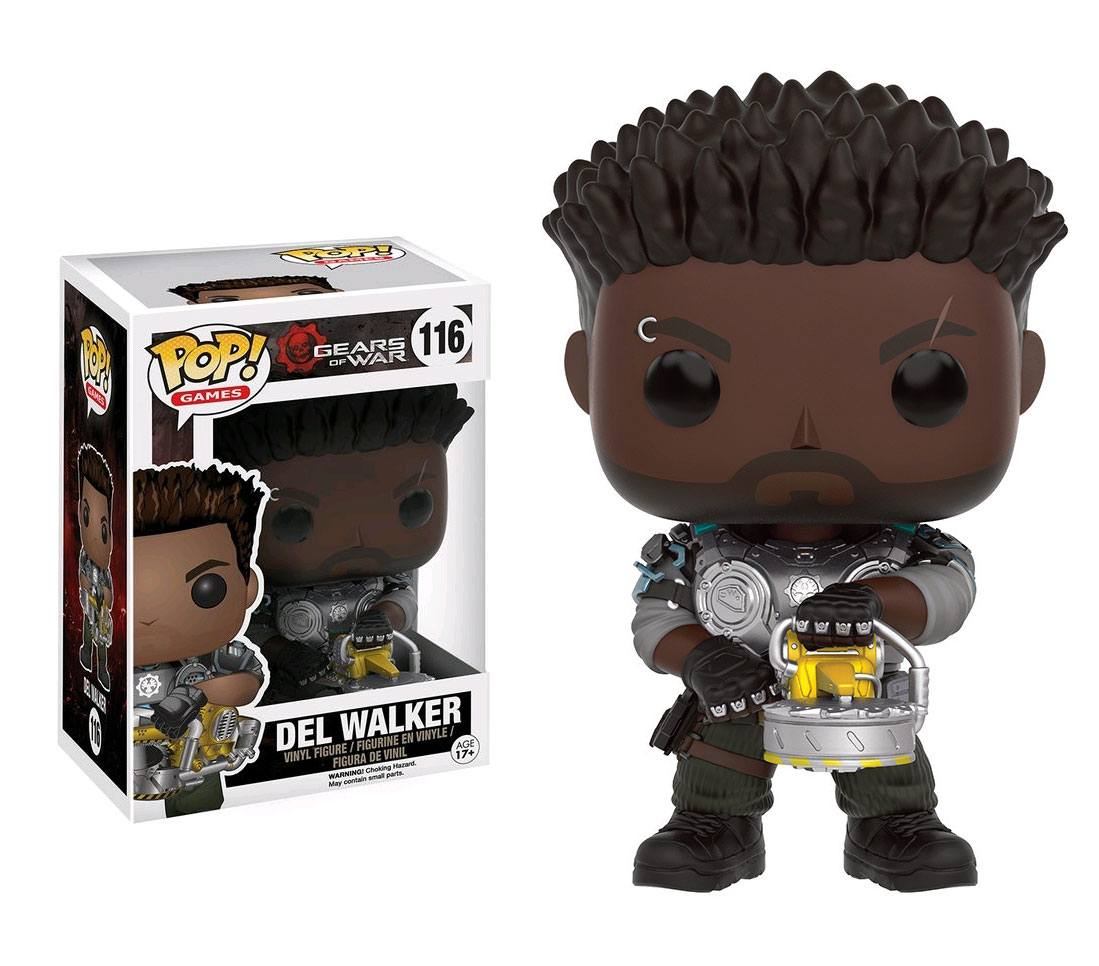 Gears of War POP! Games Vinyl Figure Del Walker 9 cm