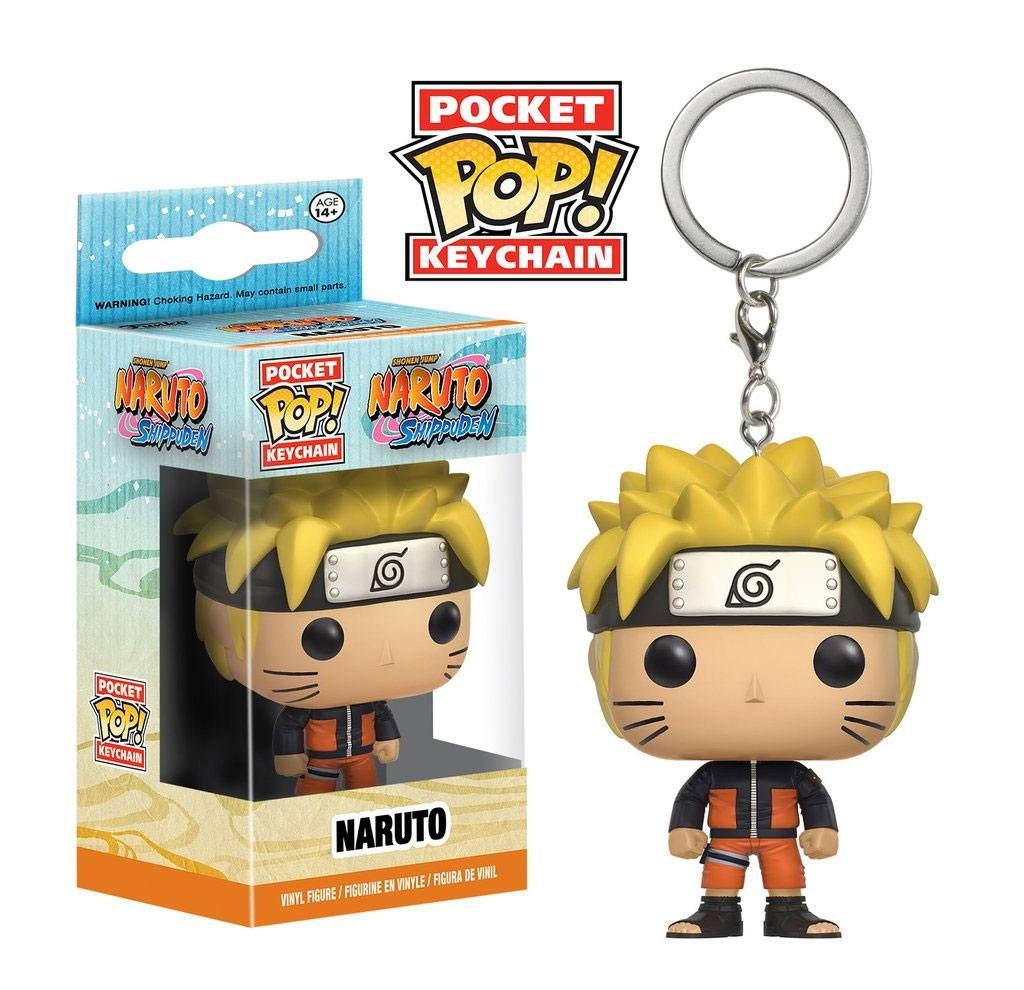 Naruto Shippuden Pocket POP! Vinyl Keychain Naruto 4 cm