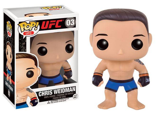 UFC POP! Vinyl Figure Chris Weidman 9 cm