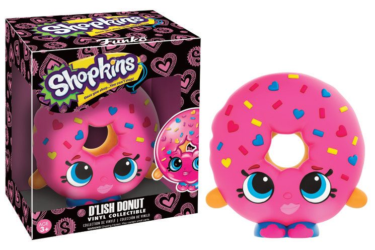 Shopkins Vinyl Collectible Figure D'lish Donut 9 cm