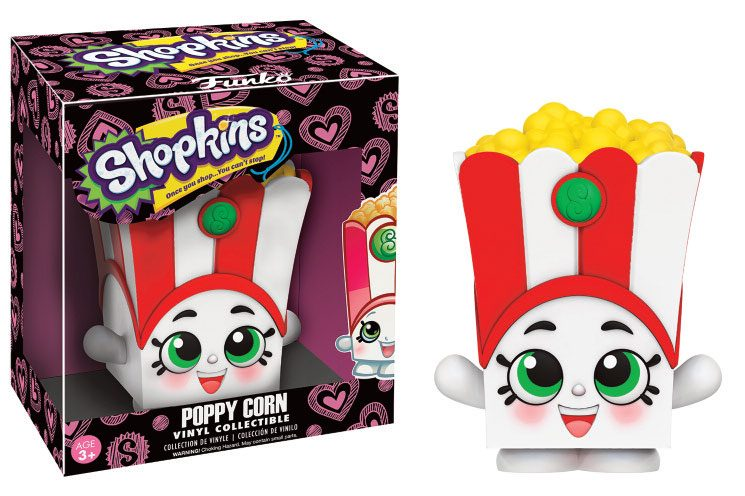 Shopkins Vinyl Collectible Figure Poppy Corn 9 cm