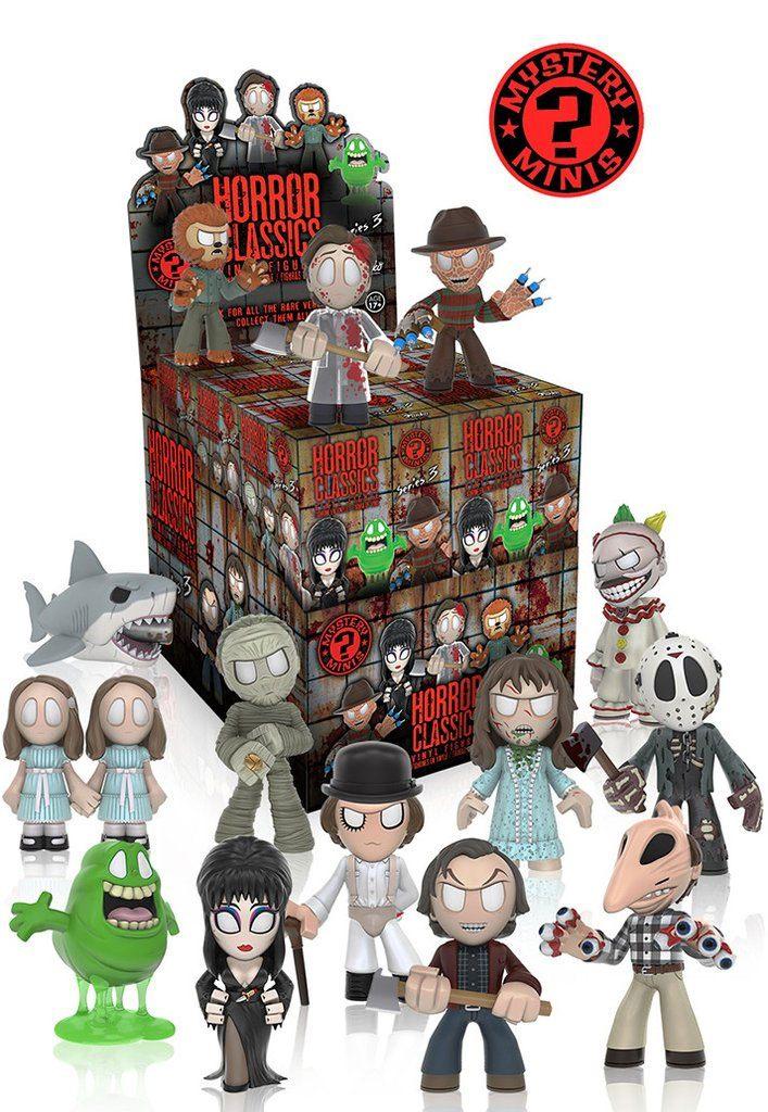 Horror Classics Mystery Mini Figures 6 cm Series 3 Display (12)