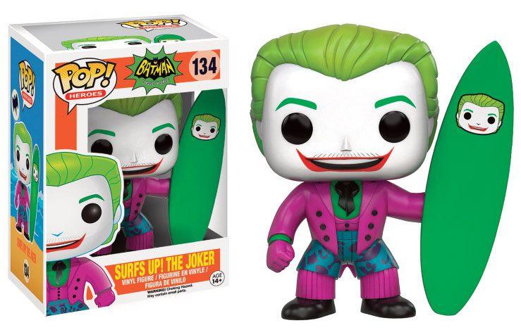 Batman POP! Heroes Vinyl Figure Surf's Up! Joker 9 cm