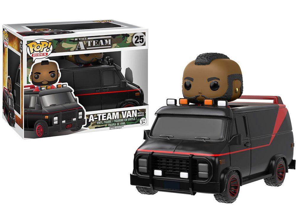 A-Team POP! Rides Vinyl Vehicle with Figure Van & B.A. Baracus 20 cm