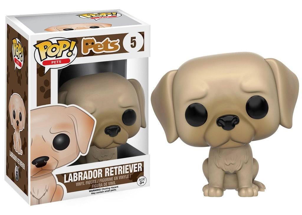 Funko POP! Pets Vinyl Figure Labrador Retriever 9 cm
