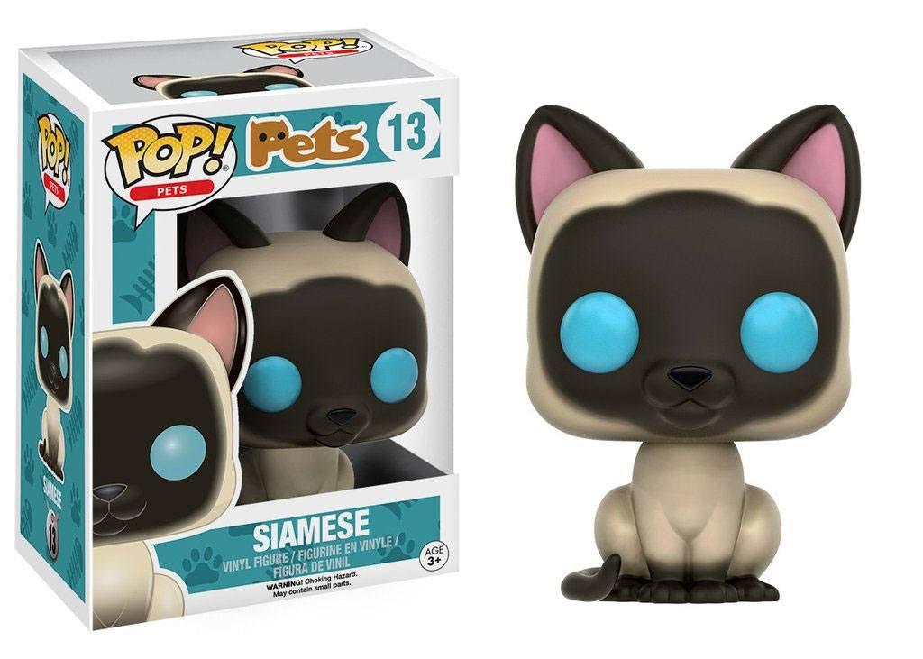 Funko POP! Pets Vinyl Figure Siamese 9 cm