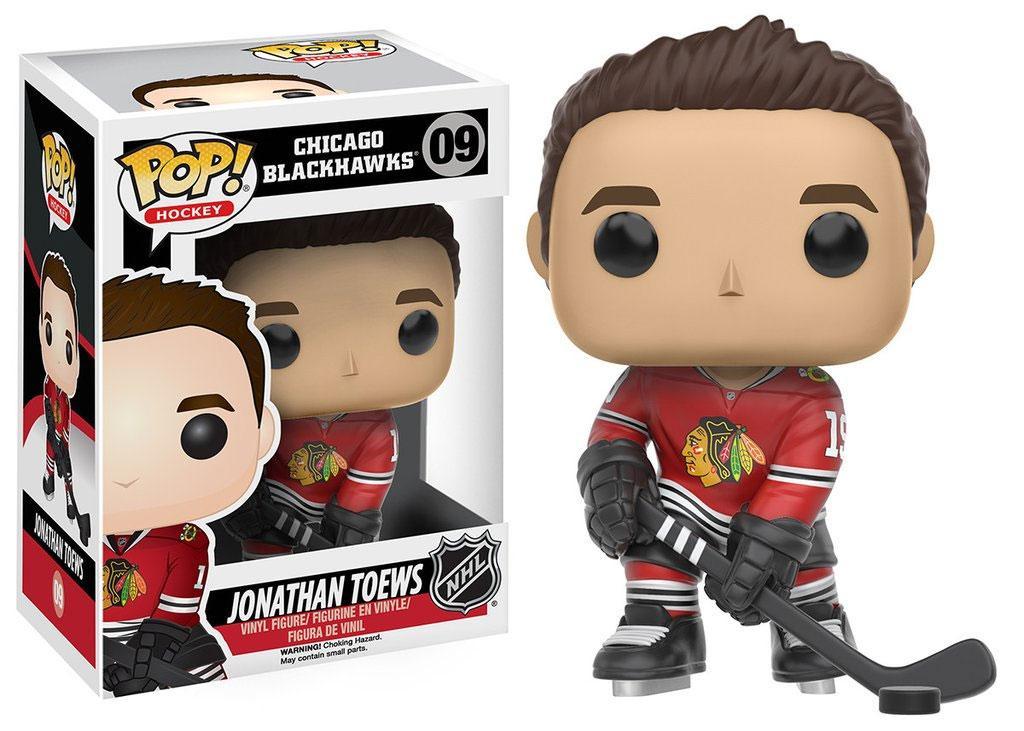 NHL POP! Hockey Vinyl Figure Jonathan Toews (Chicago Blackhawks) 9 cm