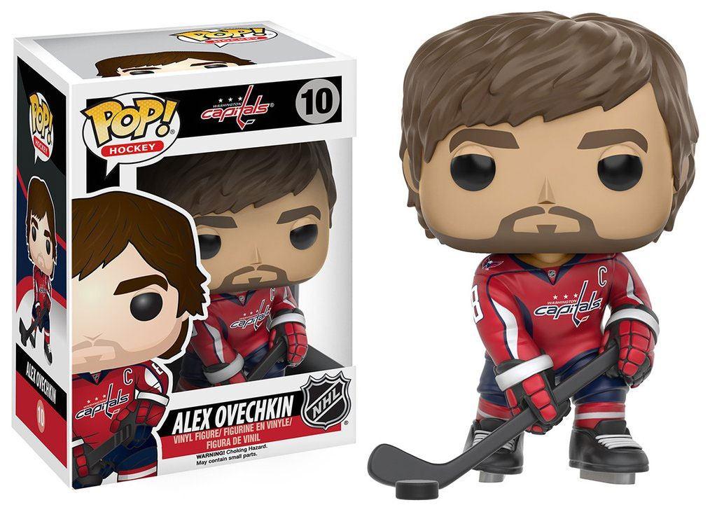 NHL POP! Hockey Vinyl Figure Alex Ovechkin (Washington Capitals) 9 cm