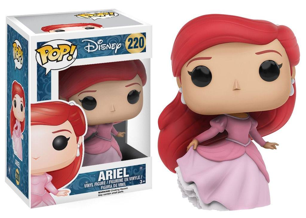 The Little Mermaid POP! Disney Vinyl Figure Ariel (Gown) 9 cm