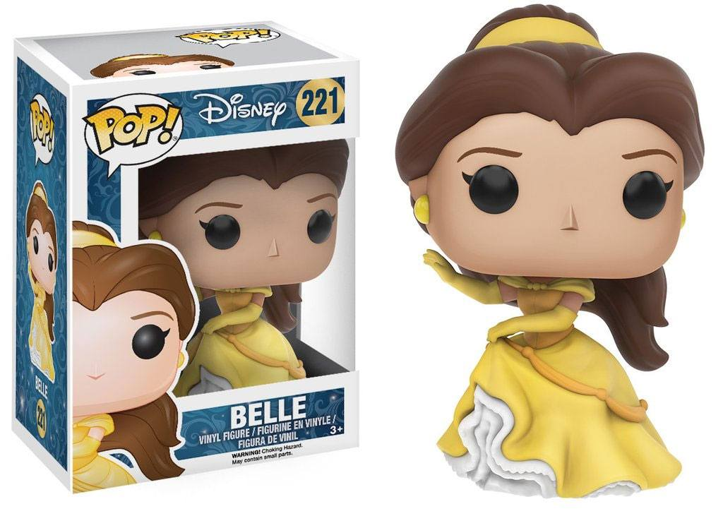 Beauty and the Beast POP! Vinyl Figure Belle (Gown) 9 cm