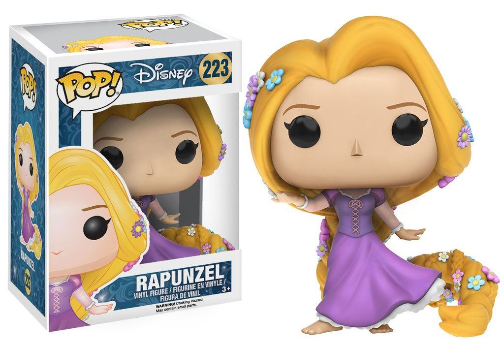 Tangled POP! Vinyl Figure Rapunzel (Gown) 9 cm