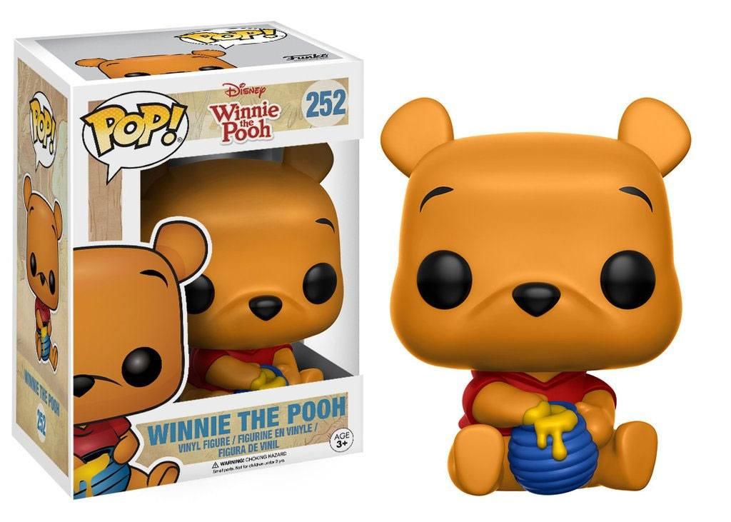 Winnie the Pooh POP! Disney Vinyl Figure Seated Pooh 9 cm