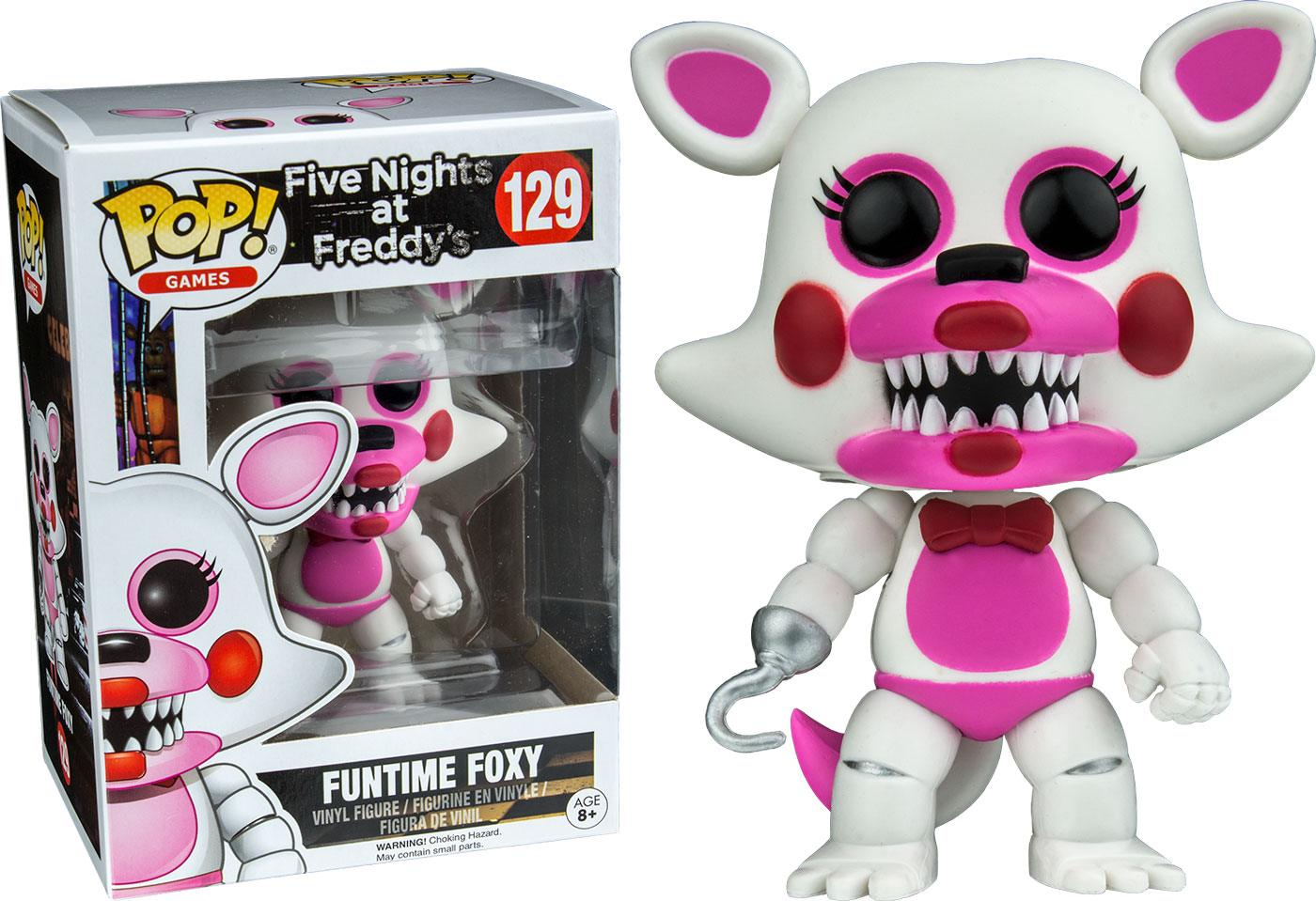 Five Nights at Freddy's POP! Games Vinyl Figure Funtime Foxy 9 cm