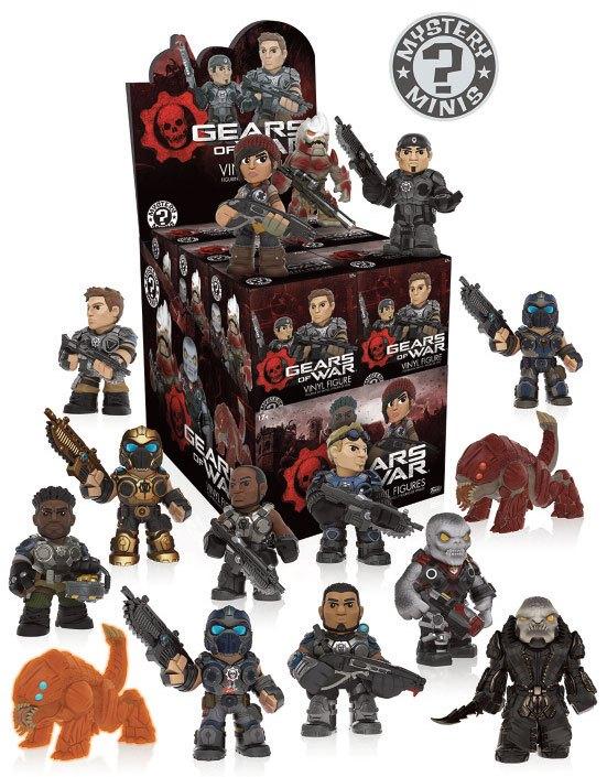 Gears of War Mystery Mini Figures 5 cm Display (12)