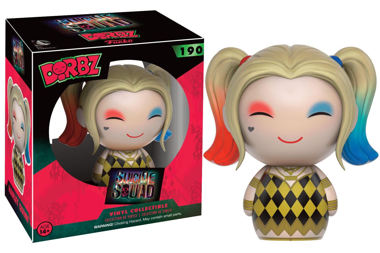 Suicide Squad Dorbz Vinyl Figure Harley Quinn (In Gown) 8 cm