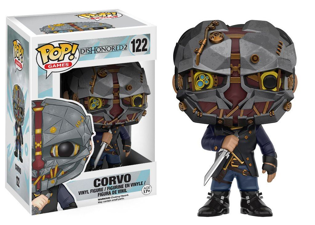Dishonored 2 POP! Games Vinyl Figure Corvo 9 cm