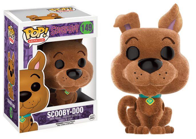 Scooby Doo POP! Animation Vinyl Figure Scooby-Doo (Flocked) 9 cm