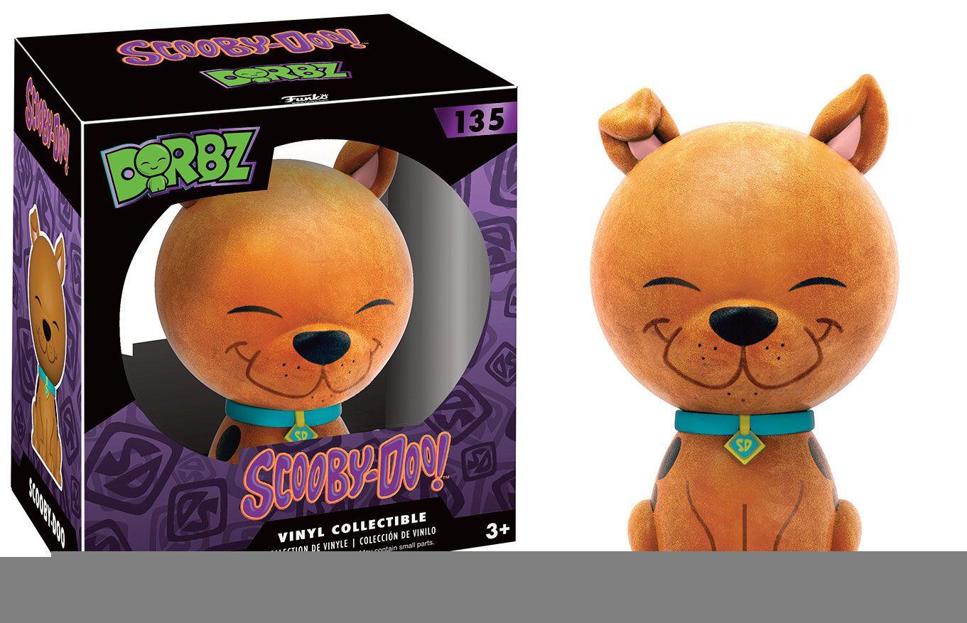 Scooby Doo Vinyl Sugar Dorbz Vinyl Figure Scooby Doo (Flocked) 8 cm