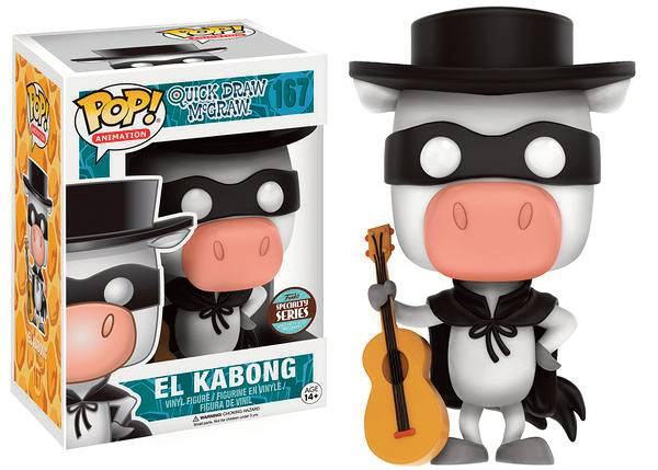 Quick Draw McGraw POP! Animation Vinyl Figure Speciality Series El Kabong 9 cm