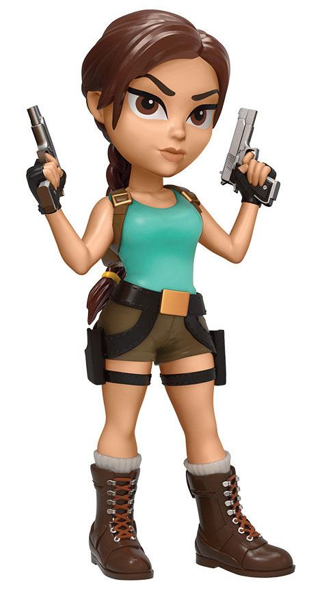 Tomb Raider Rock Candy Vinyl Figure Lara Croft 13 cm