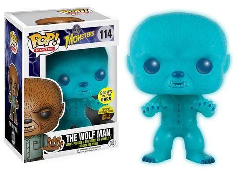 Universal Monsters POP! Vinyl Figure The Wolf Man GITD 9 cm