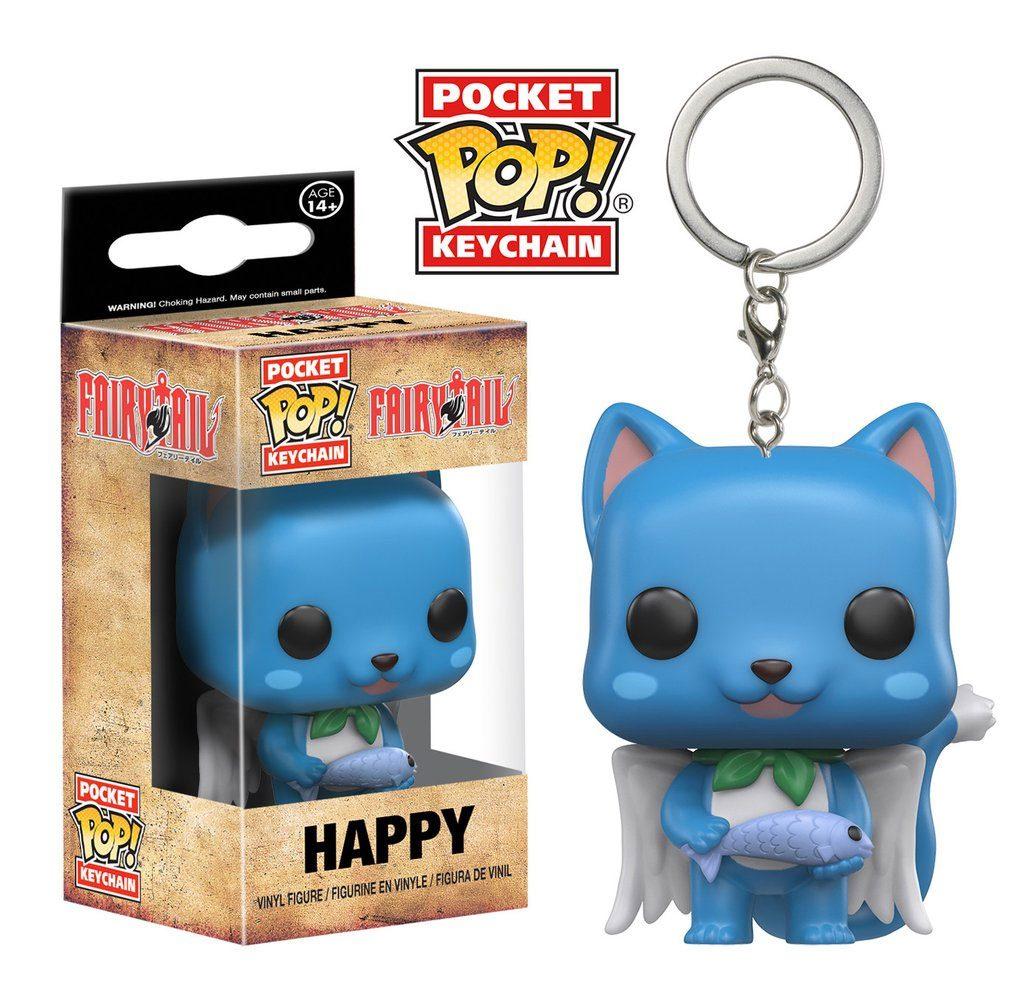Fairy Tail Pocket POP! Vinyl Keychain Happy 4 cm