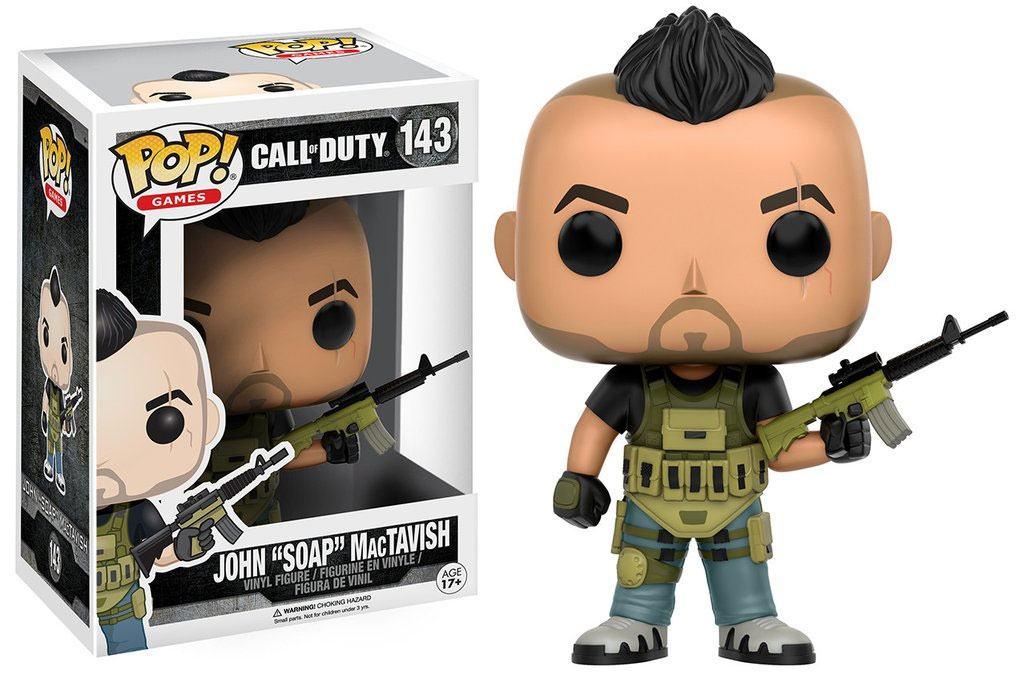 Call of Duty POP! Games Vinyl Figure John Soap MacTavish 9 cm