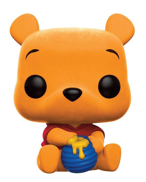Winnie the Pooh POP! Disney Vinyl Figure Winnie The Pooh (Flocked) 9 cm