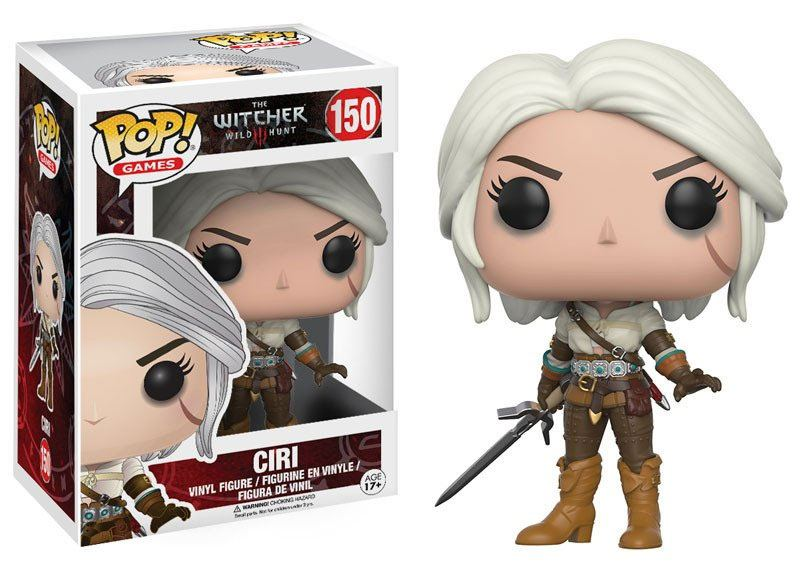 The Witcher POP! Games Vinyl Figure Ciri 9 cm