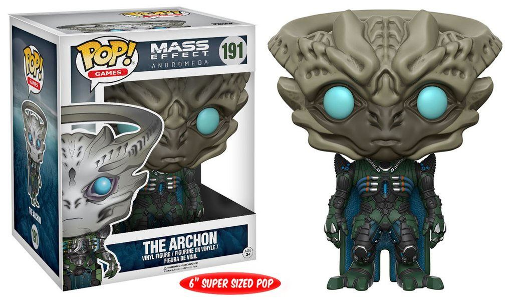 Mass Effect Andromeda Super Sized POP! Games Vinyl Figure The Archon 15 cm