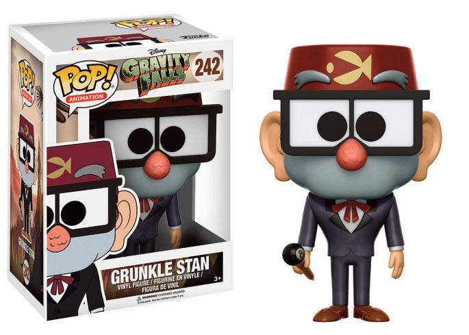 Gravity Falls POP! Animation Vinyl Figure Grunkle Stan 9 cm
