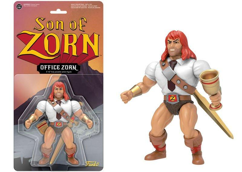 Son of Zorn Action Figure Office Zorn 14 cm