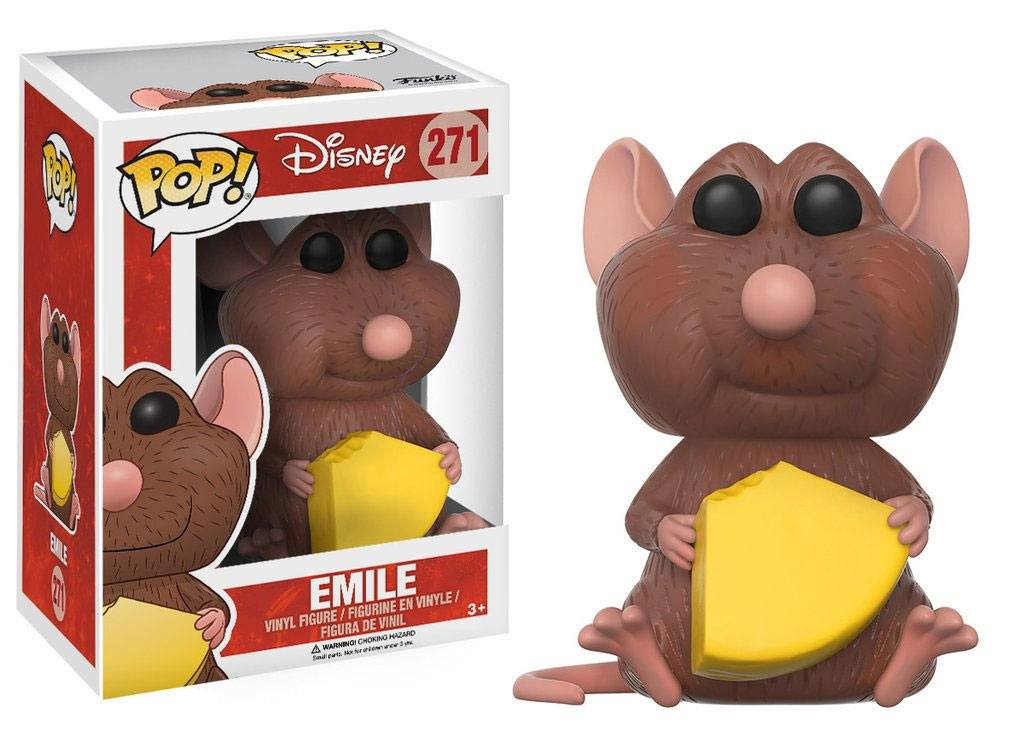 Ratatouille POP! Disney Vinyl Figure Emile 9 cm