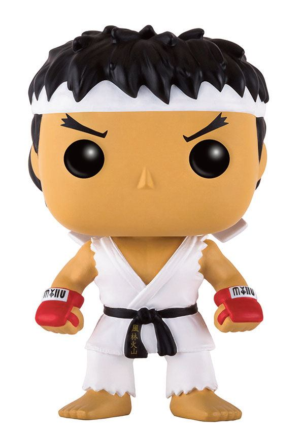 Street Fighter POP! Games Vinyl Figure Ryu White Headband 9 cm
