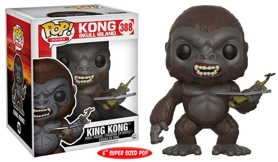 Kong Skull Island Super Sized POP! Movies Vinyl Figure King Kong 15 cm
