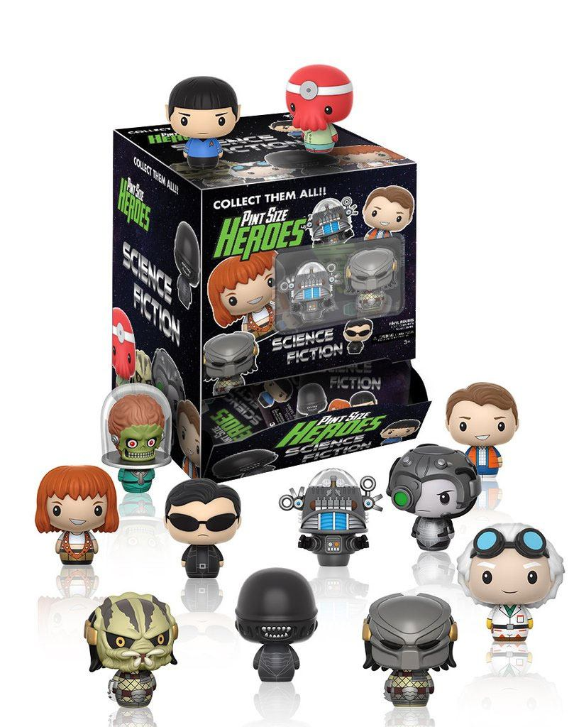 Science Fiction Pint Size Heroes Mini Figures 6 cm Display (24)