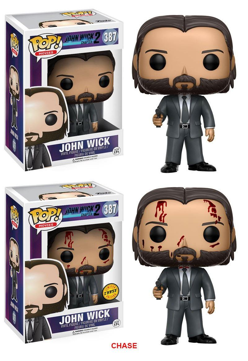 John Wick 2 POP! Movies Figures John Wick 9 cm Assortment (6)