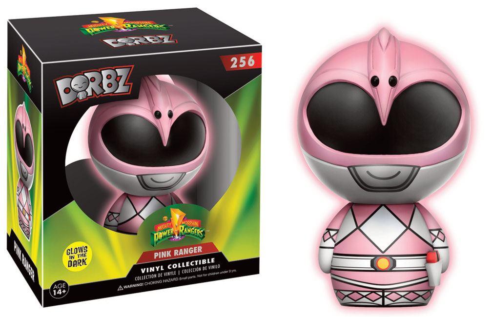 Power Rangers Vinyl Sugar Dorbz Vinyl Figure Pink Ranger GITD 8 cm