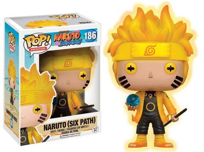 Naruto Shippuden POP! Animation Vinyl Figure Naruto (Six Path) 9 cm