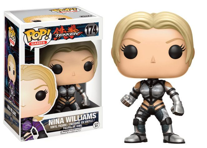 Tekken POP! Games Vinyl Figure Nina Williams (Silver Suit) 9 cm