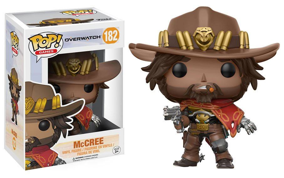 Overwatch POP! Games Vinyl Figure McCree 9 cm