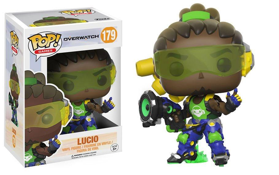 Overwatch POP! Games Vinyl Figure Lucio 9 cm
