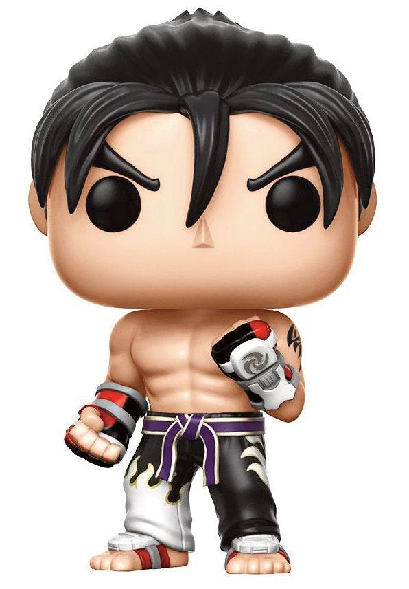 Tekken POP! Games Vinyl Figure Jin Kazama Black & White Suit 9 cm