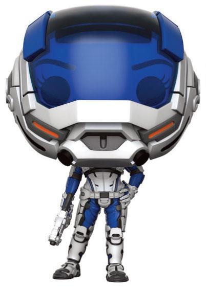 Mass Effect Andromeda POP! Games Vinyl Figure Sarah Ryder (Masked) 9 cm