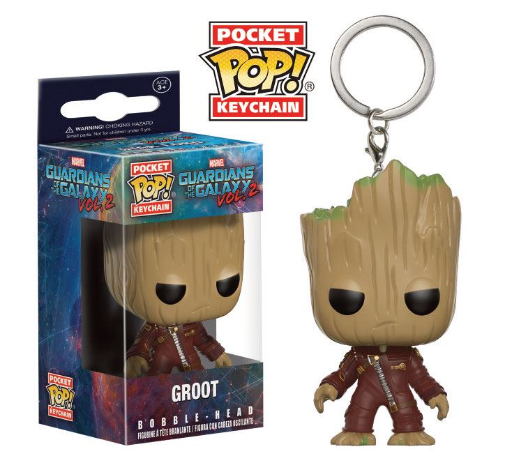 Guardians of the Galaxy Vol. 2 Pocket POP! Vinyl Keychain Groot 4 cm