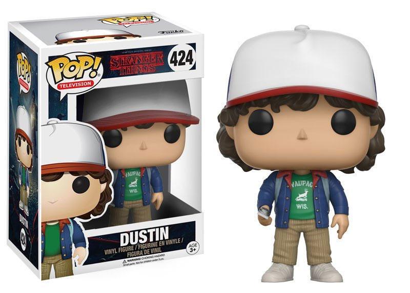 Stranger Things POP! TV Vinyl Figure Dustin 9 cm