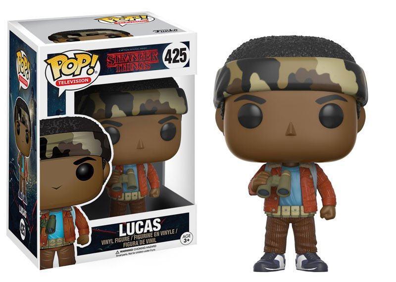 Stranger Things POP! TV Vinyl Figure Lucas 9 cm