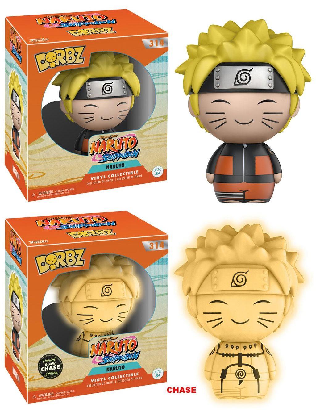 Naruto Dorbz Vinyl Figures Naruto 8 cm Assortment (6)