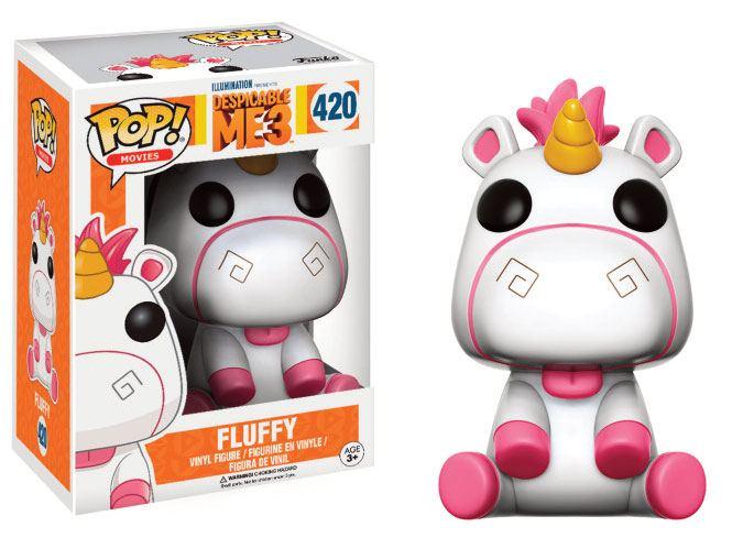 Despicable Me 3 POP! Movies Vinyl Figure Fluffy 9 cm